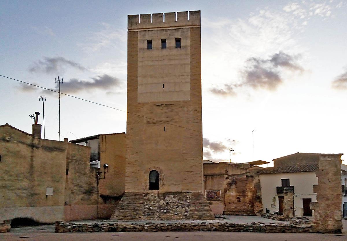 Torre dels Borja a Canals, on, segons la tradició, va néixer Alfons de Borja. Principi del segle XIII