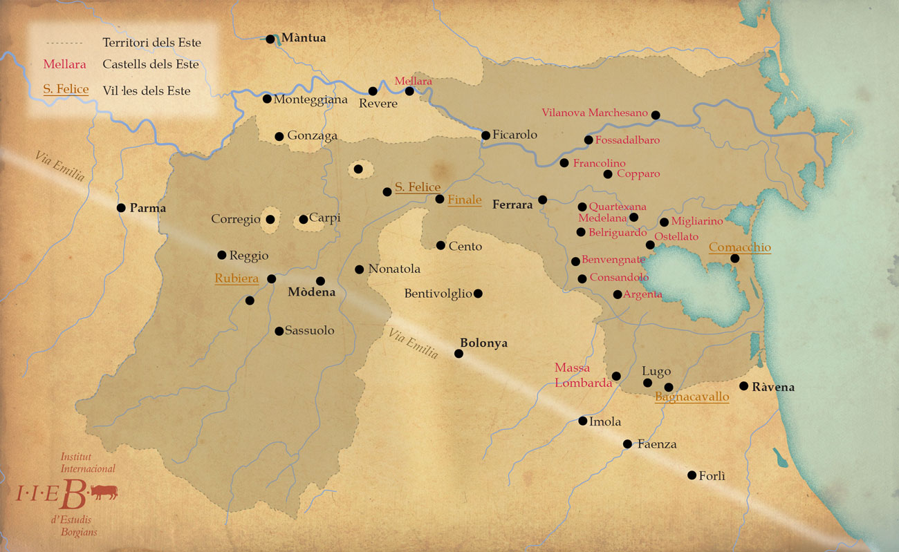 El territori dels Este