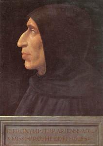 Girolamo Savonarola.