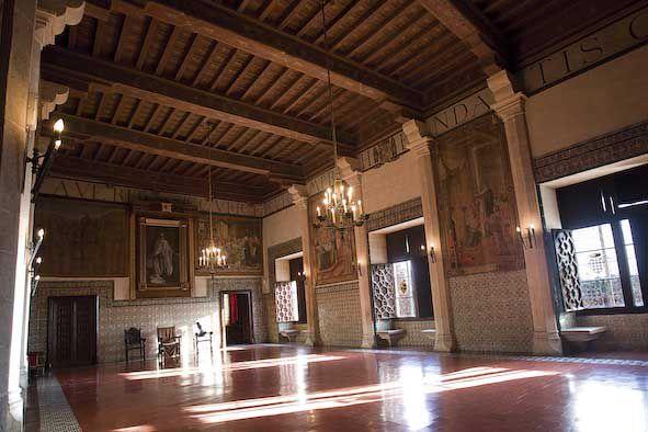 Saló de Corones. Gandia, palau ducal. Foto: Natxo Francés.