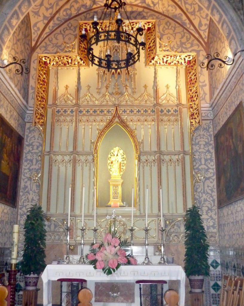Altar de la mare de Déu del Roser