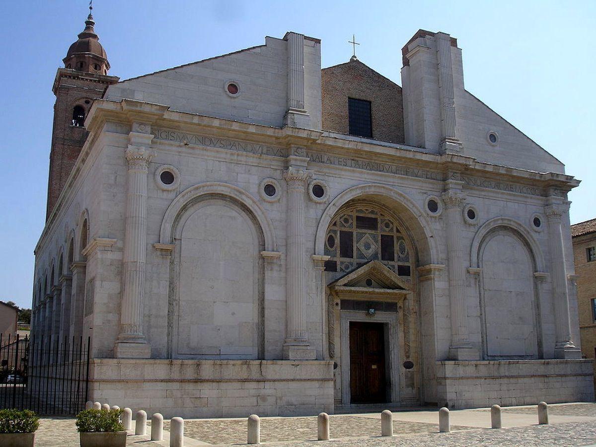 Catedral de Rímini.