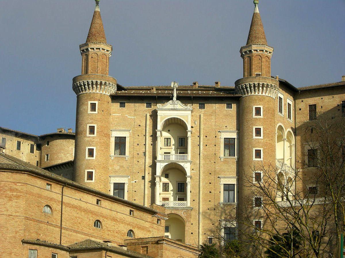 Palau ducal d'Urbino.