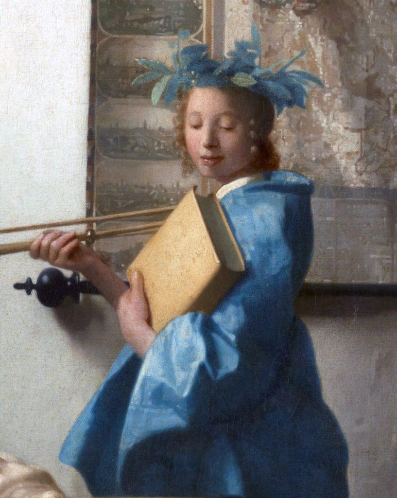 Van Vermeer, Clio (detall). Font: Wikimedia Commons