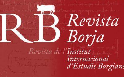 Actes del congrés Els Borja en l'art (Xàtiva, 2016)