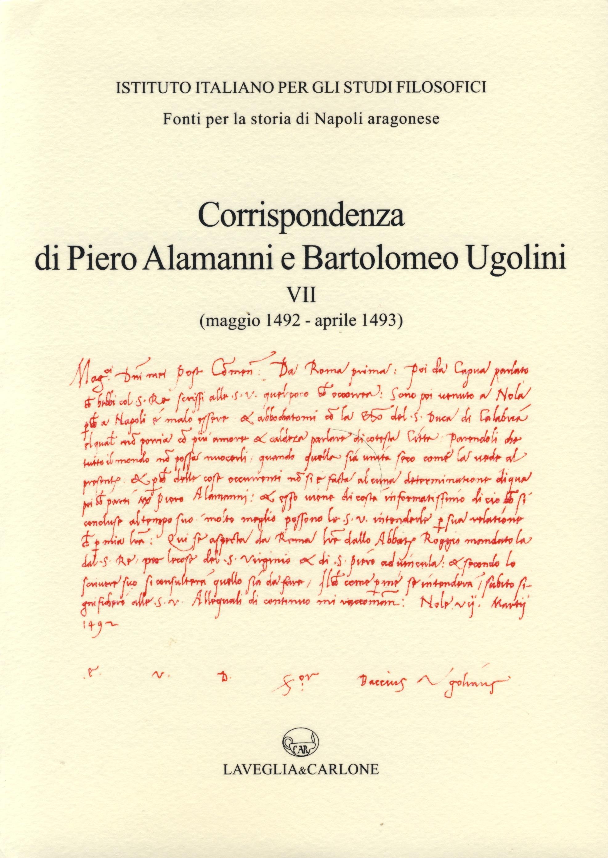 Fonti per la storia di Napoli aragonese II/7