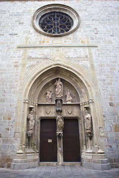 Porta dels Apòstols. Foto: Natxo Francés.