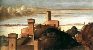 Gradara, segons Bellini (1471-1474).