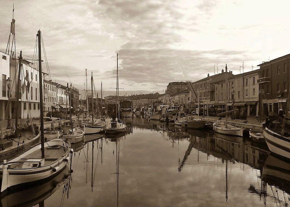 Porto Canale di Cesenatico.