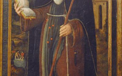 Sant Magí i el secretari del papa Alexandre