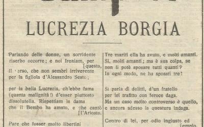 Lucrècia Borja en la literatura europea del Huit-cents