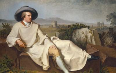L'art adunà J. W. Goethe i uns Borja