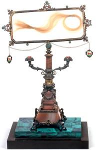Cabells de Lucrècia que aquesta envià a Pietro Bembo (Biblioeca Ambrosiana de Milà).