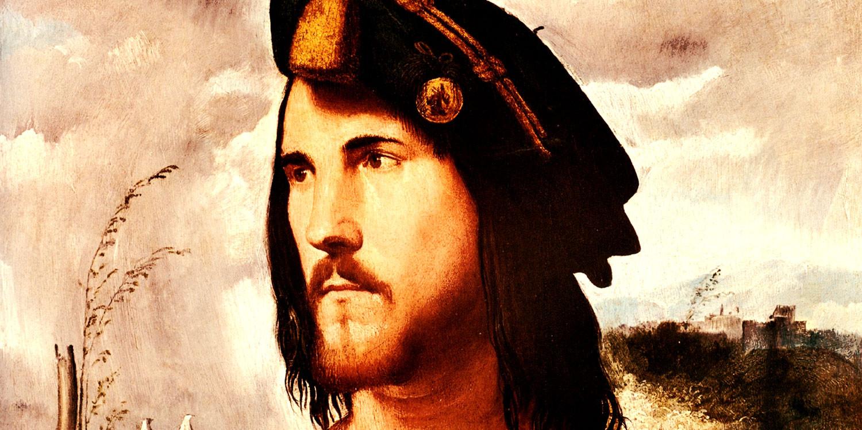 Altobello Melone (1490–1543) - Retrat de gentilhome, tradicionalment considerat com a Cèsar Borja