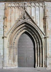 Col·legiata Gandia Porta Santa Maria