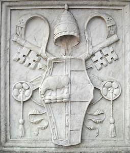 Escut d'armes d'Alexandre VI al castell de Sant'Angelo a Roma