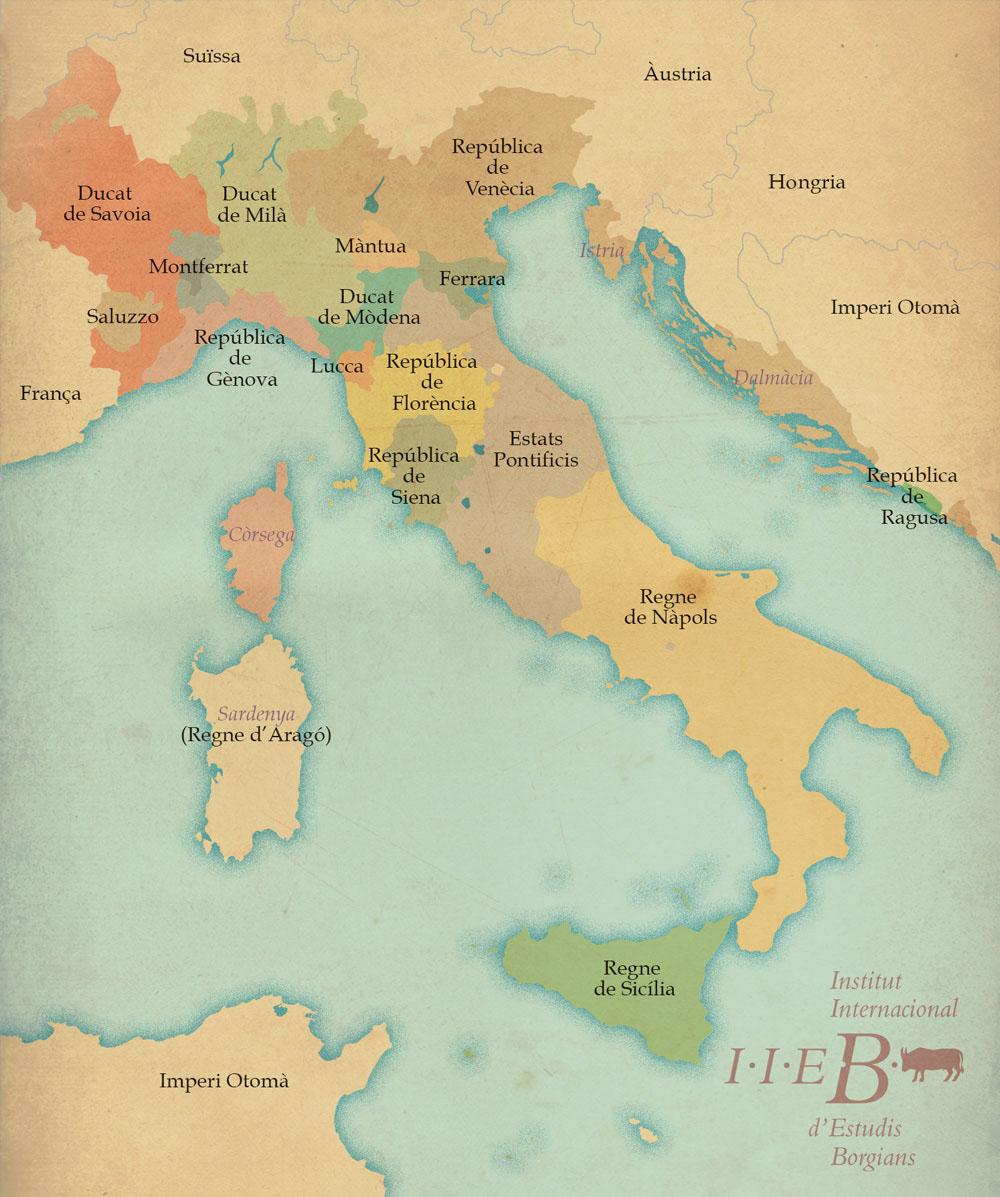Itàlia el 1494