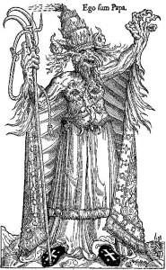 El papa Alexandre VI com a anticrist.