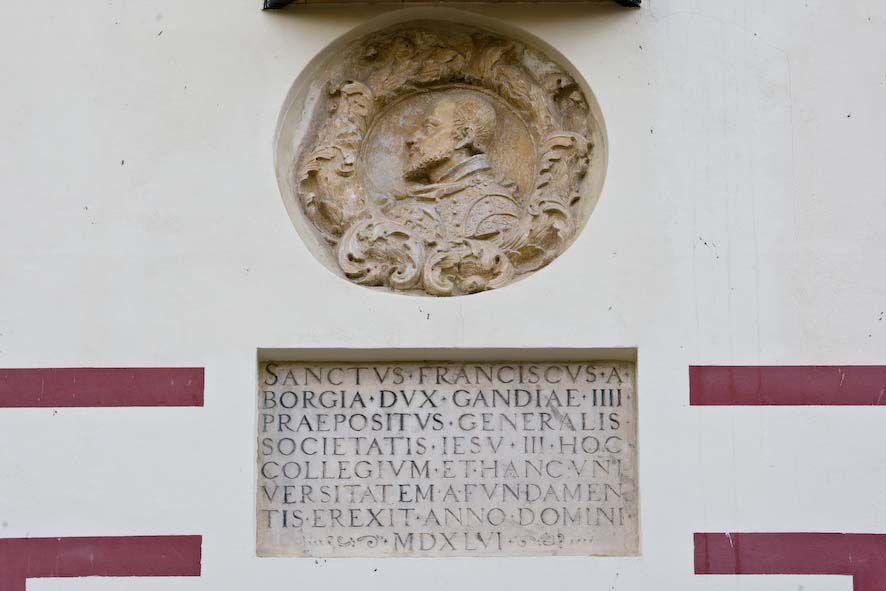 Sant Francesc (antiga Universitat de Gandia).