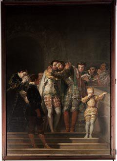 Acomiadament de sant Francesc (Goya).