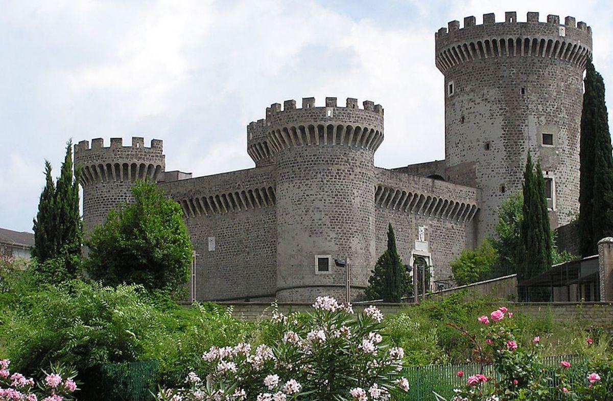 Rocca Pia, Tívoli.