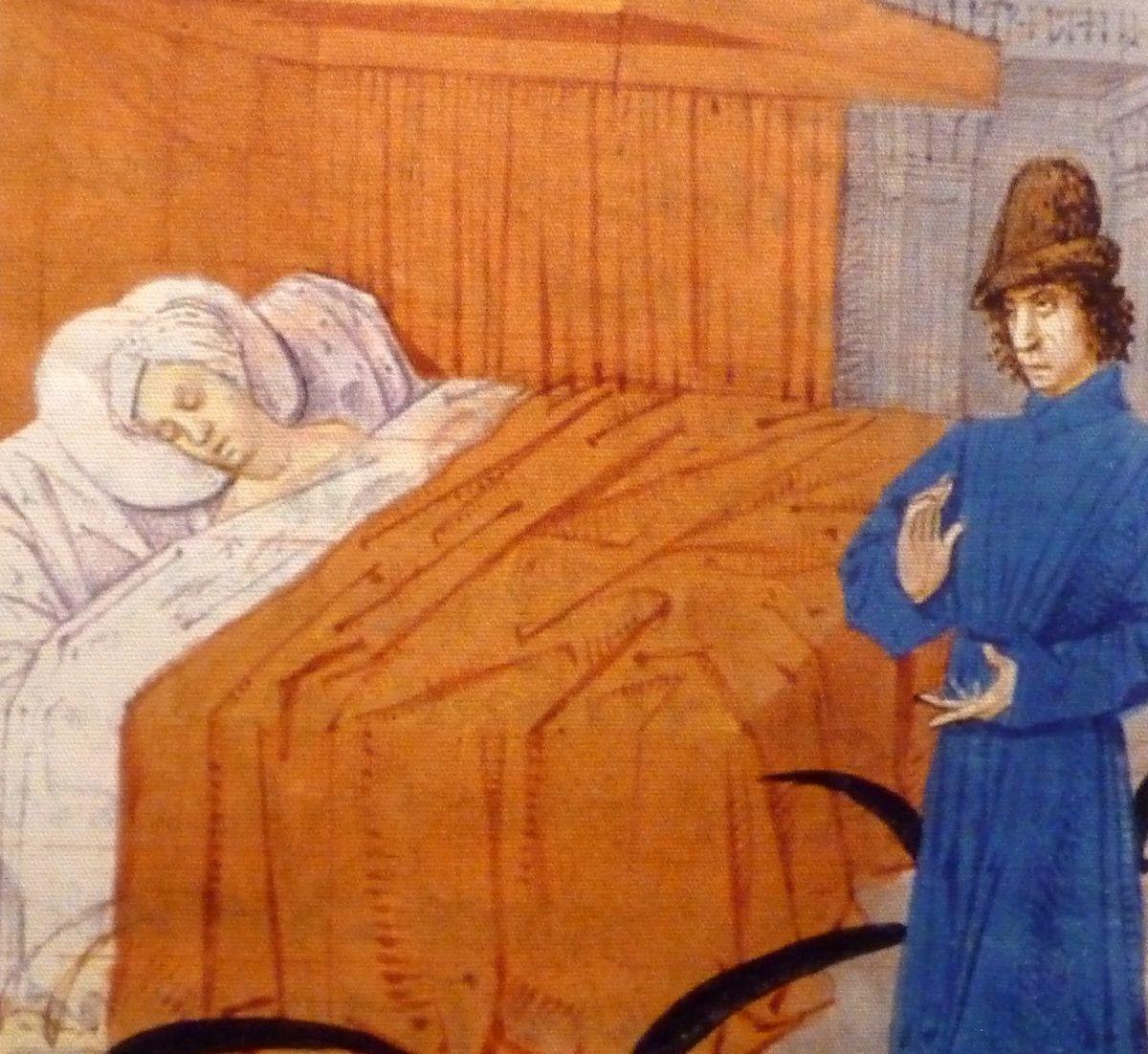 Au lit au Moyen Age