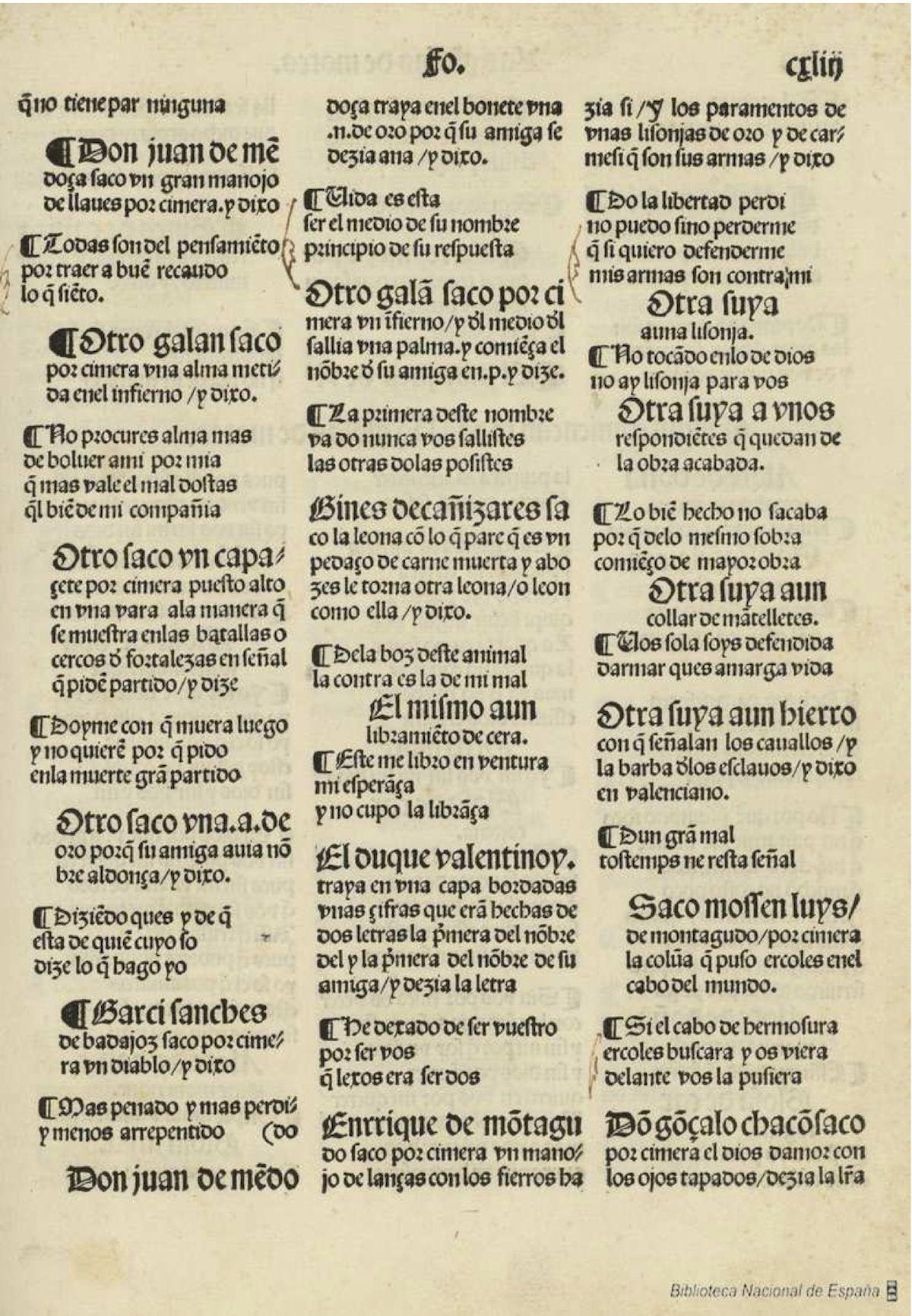 Cancionero de Hernando del Castillo