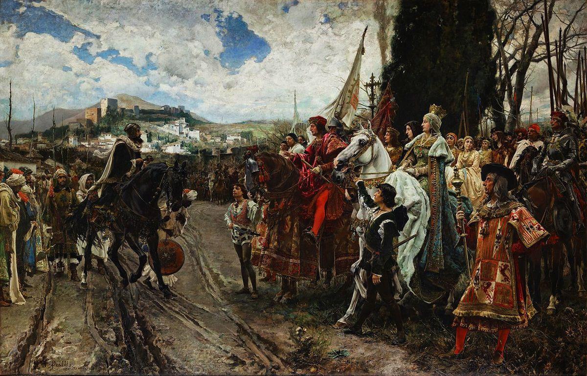 Pradilla Rendición de Granada