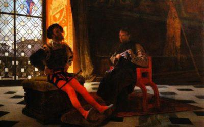 Maquiavel, ambaixador de Florència davant del Valentino