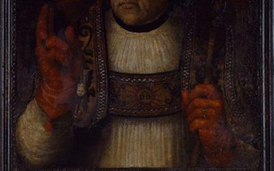Dos retrats en guadamassil